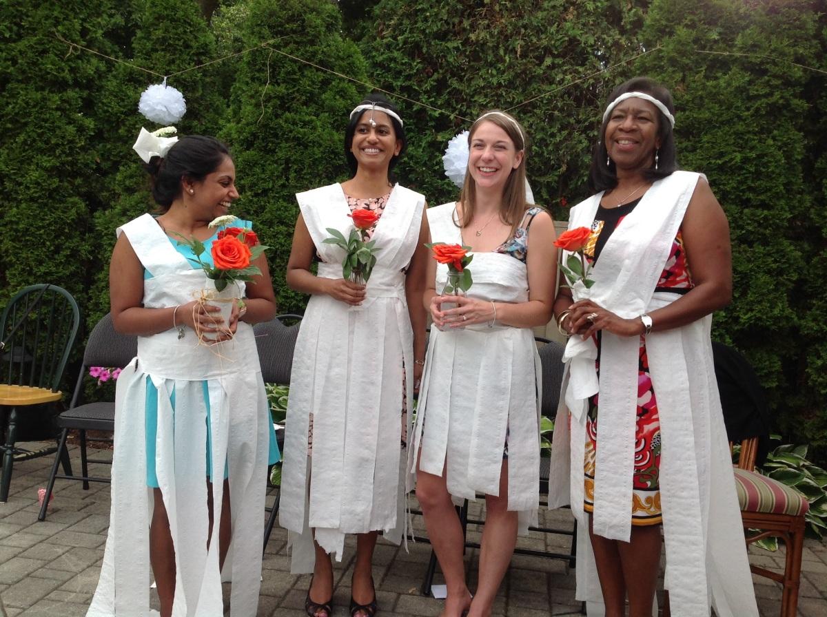 Toilet Paper Brides