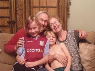 Grandad, Grandma, Findlay and Eamon