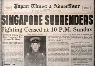 singaporesurrendersnewsclipping