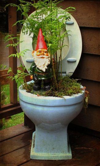 garden toilet